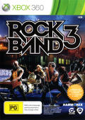 Rock Band 3 Xbox 360 Front Cover