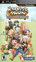 Harvest Moon: Hero of Leaf Valley PSP Front Cover