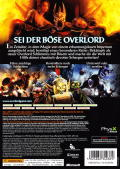 Overlord II Xbox 360 Back Cover