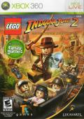 LEGO Indiana Jones 2: The Adventure Continues  Xbox 360 Front Cover