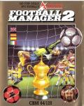 Football Manager 2 Commodore 64 Front Cover
