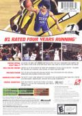 College Hoops NCAA 2K7 Xbox Back Cover