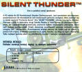Silent Thunder: A-10 Tank Killer II Windows Back Cover