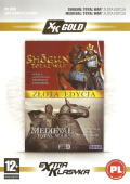 Shogun: Total War (Gold Edition) + Medieval: Total War (Gold Edition) Windows Front Cover