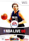 NBA Live 08 Wii Front Cover
