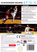 NBA Live 08 Wii Back Cover