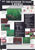 College Football USA 96 Genesis Back Cover