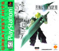 Final Fantasy VII PlayStation Front Cover