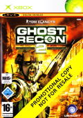 Tom Clancy's Ghost Recon 2: 2011: Final Assault Xbox Front Cover