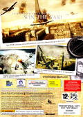 Blazing Angels: Squadrons of WWII Xbox 360 Back Cover