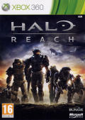 Halo: Reach Xbox 360 Front Cover
