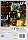 Metroid Prime GameCube Back Cover