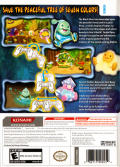 Dewy's Adventure Wii Back Cover