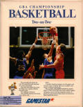 GBA Championship Basketball: Two-on-Two Apple IIgs Front Cover