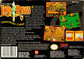 J.R.R. Tolkien's Lord of the Rings: Volume One SNES Back Cover