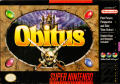 Obitus SNES Front Cover