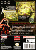 Odama GameCube Back Cover