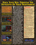 Dungeon Hack DOS Back Cover