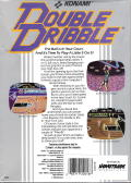 Double Dribble DOS Back Cover