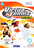 Virtua Tennis 2009 Wii Front Cover