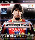 PES 2011: Pro Evolution Soccer PlayStation 3 Front Cover
