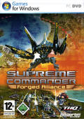 Supreme Commander: Forged Alliance Windows Front Cover