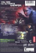 Terminator 3: Rise of the Machines Xbox Back Cover