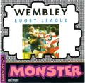 Wembley Rugby League DOS Front Cover