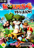 Worms 4: Mayhem Windows Front Cover