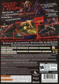 Splatterhouse Xbox 360 Back Cover