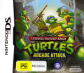 Teenage Mutant Ninja Turtles: Arcade Attack Nintendo DS Front Cover