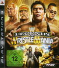 WWE Legends of WrestleMania PlayStation 3 Front Cover
