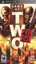 Army of Two: The 40th Day PSP Front Cover