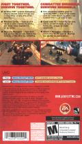 Army of Two: The 40th Day PSP Back Cover