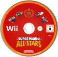 Super Mario All-Stars: Limited Edition Wii Media Game disc