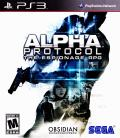 Alpha Protocol PlayStation 3 Front Cover