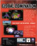 Global Domination Windows Back Cover