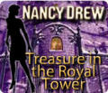 Nancy Drew: Treasure in the Royal Tower Windows Front Cover