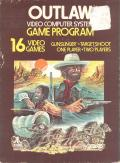 Outlaw Atari 2600 Front Cover