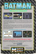 Batman: The Caped Crusader DOS Back Cover