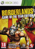Borderlands: Game of the Year Edition Xbox 360 Front Cover