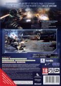 Vanquish Xbox 360 Back Cover