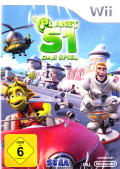 Planet 51: The Game Wii Front Cover
