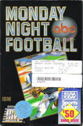 ABC Monday Night Football DOS Front Cover