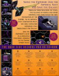 Star Wars: TIE Fighter (Collector's CD-ROM) Macintosh Back Cover