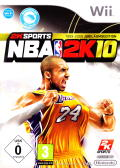 NBA 2K10 Wii Front Cover