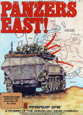 Panzers East! Commodore 64 Front Cover