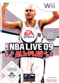NBA Live 09 All-Play Wii Front Cover