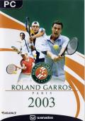 Roland Garros French Open 2003 Windows Front Cover