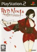 Red Ninja: End of Honor PlayStation 2 Front Cover